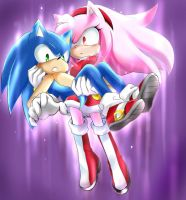 Super Amy by GaruGiroSonicShadow