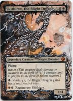 Magic Card Alteration: Skithiryix by Ondal-the-Fool