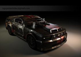 Death Race - Mustang 1 by nguyenanhdac