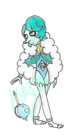 :CE: Now an Adopt!: Turquoise Pearl [CLOSED] by kuku88