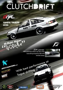The Clutchdrift Magazine: Corolla AE86 -Initial D- by MRAFPhotoworks