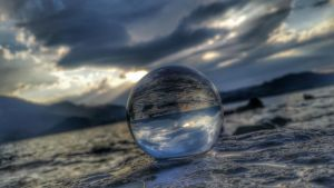 Glassball by Aronja