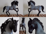 Blue Roan -- Custom by Zareefa-Arts