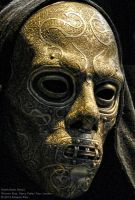 Death Eater mask detail by RobertoPina