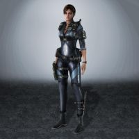 Resident Evil Revelations Jill Valentine by ArmachamCorp