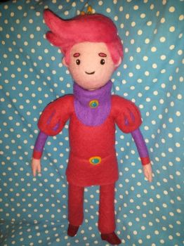 Needle Felted Prince Gumball by CatsFeltLings