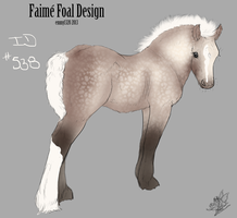 Faime Foal Design ID #538 by EvenweaveEquestrian