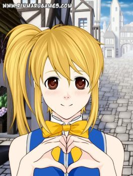 Lucy Heartfilia After 1 year timeskip by Imagination7