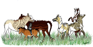 My current WME herd by Soph6297