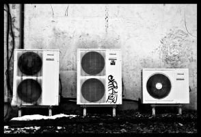 Air Conditioners by eclippse