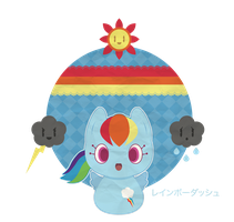Rainbow Dash for Chibibastetmotou ::RQ:: by Itachi-Roxas
