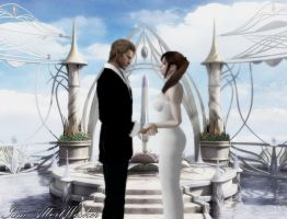 WeskerxClaire - Matrimony by IamAlbertWesker