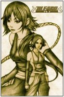 Bleach - Yoruichi and Soifon by MAG83