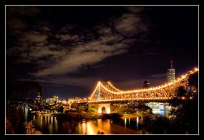 Brisbane By Night VII by 2Stupid2Duck