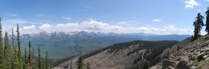 Crested Butte Panorama 2 by E-Squid