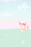 Hello Skitty iPhone 4 Home Screen by MsKtty89