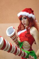 Candy Cane Miss Fortune by LordSchiffer
