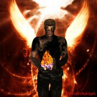 Wesker - Flames of the Phoenix by IamAlbertWesker