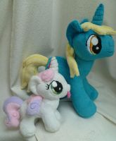 Kindler and Sweetie by caashley