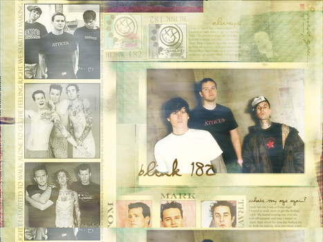 Blink 182 wallpaper by Jas-min