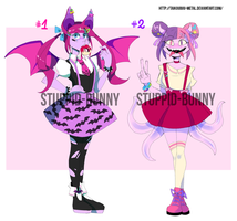 Auction Monsters Girls OPEN! (Paypal and Points) by Taikoubou-Metal