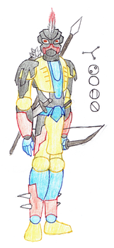 Somn, Toa of the Constellation Indus by Color17