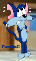Tiny Toon Adventures- Furrball by LuigiStar445