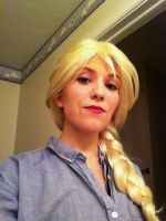 Elsa Make-up Test by lazy-neko-cosplay