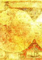 ATC Background Antique Map by ValerianaSTOCK