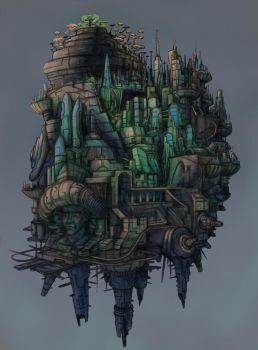 Floating City by brianpow