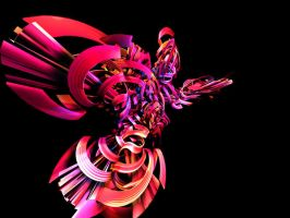 3d Abstract Render ii by 11plus