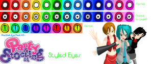.:Eye Pack 2-PSG Eyes::. by TwilightMarth