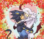 Absol and Luxray love by yohamihyuugauchiha