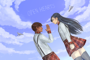 open hearts and open skies by Mr-Hatta