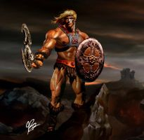 He-Man : Savage Beginings by planetbryan