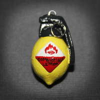 Portal - Combustible Lemon pendant by SuperSiriusXIII
