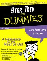 Star Trek For Dummies by LordDavid04
