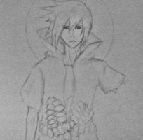 Sasuke sketch by AnA--JuLy