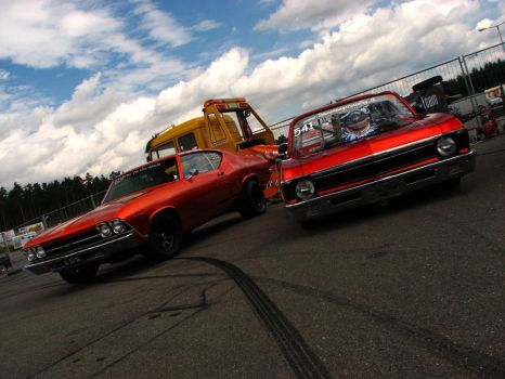 team orange country by AmericanMuscle