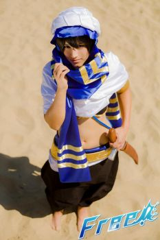 Lost in the desert - Haruka / Free! Cosplay by Hikuja