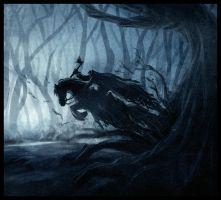 Headless horseman by mirchiz
