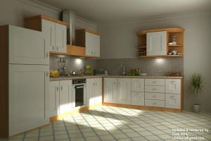 Kitchen Render 04 by cenkkara