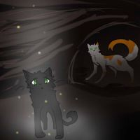 Hollyleaf and FallenLeaves by Wrenthecat