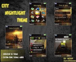 CITY NIGHTLIGHT THEME by nurutheone