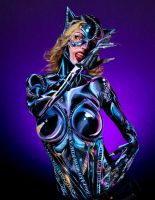 Catwoman Bodypaint by KayPikeFashion
