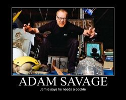 Adam Savage Demote by VampiricYoshi