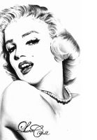 Marilyn Monroe by LCArtDesign