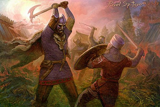 Northerners attack by CG-Zander