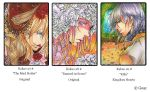 Aceo Cards 27-29 # by Goay
