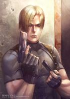 Leon S. Kennedy by hart-coco